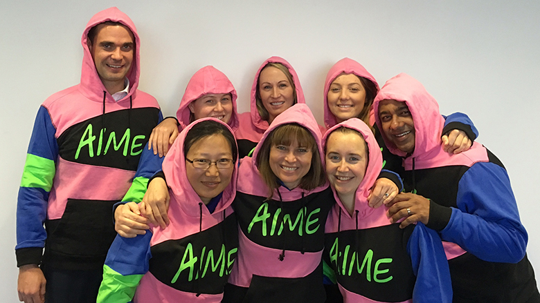 Time to AIME up and put on your hoodie!