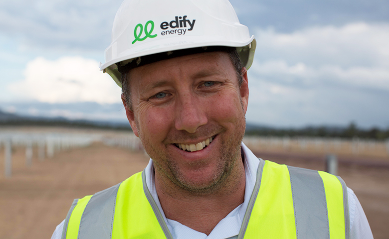 Edify Energy chief executive John Cole