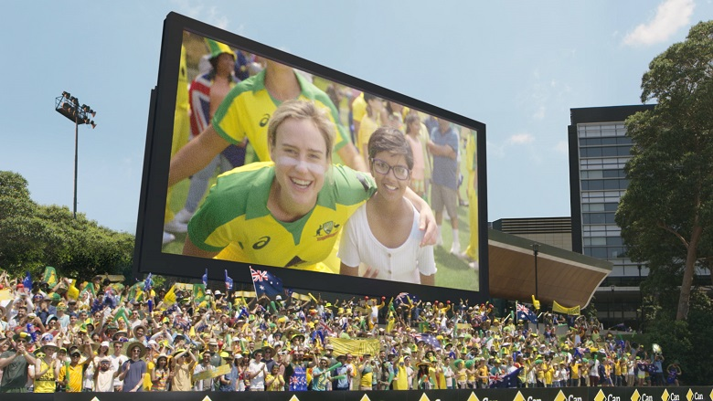 Ellyse Perry on the big screen