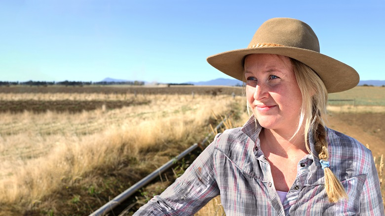 Female farmer