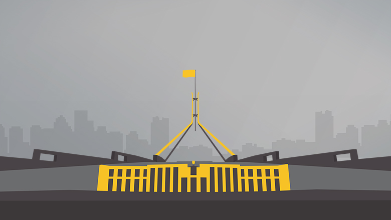 Parliament house graphic