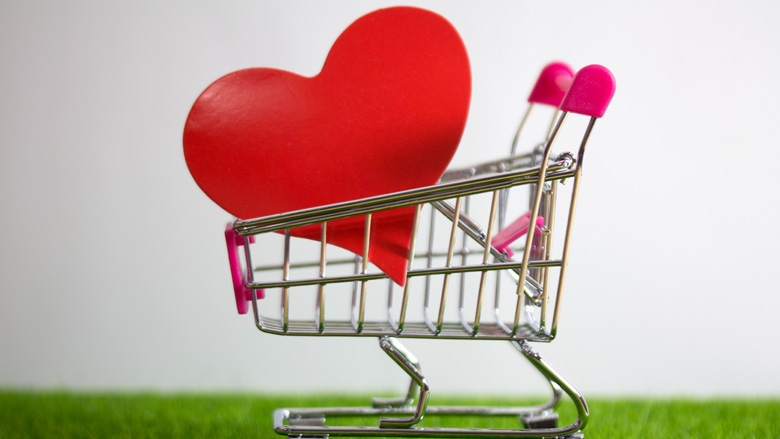 Commonwealth Bank Valentine's Day spending data
