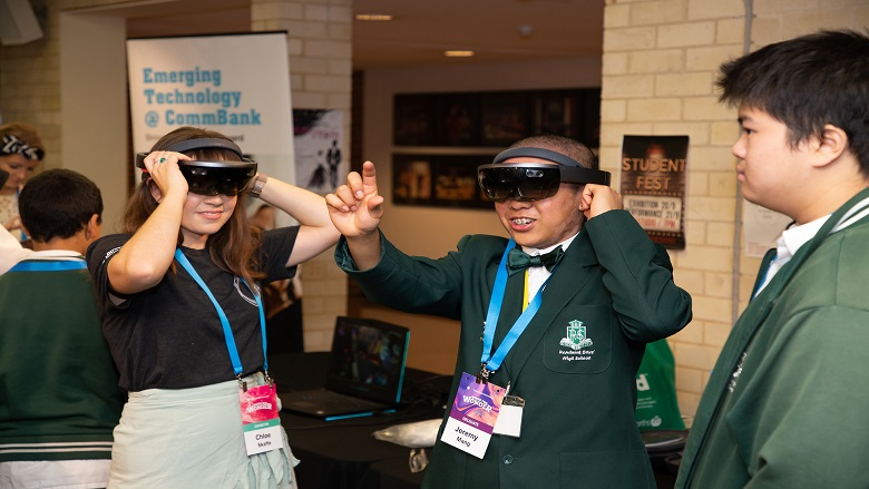 Students at CommBank Wired for Wonder 2018