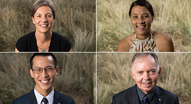 photos of the 4 Australian of the year recipients