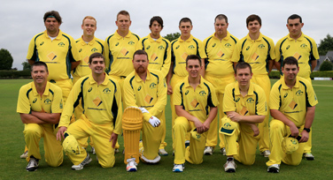 Cricket team photo