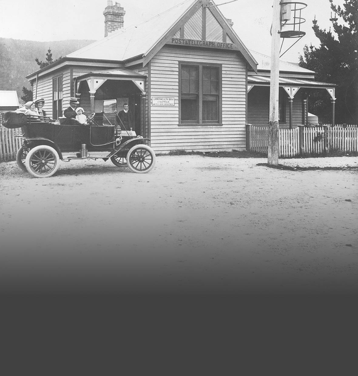 Huonville post office 1916