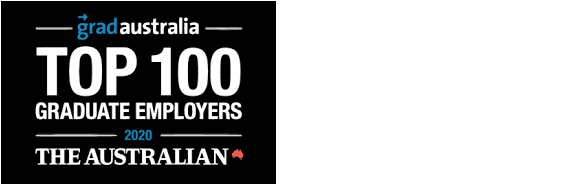 Award logo: The Australian Top 100 award