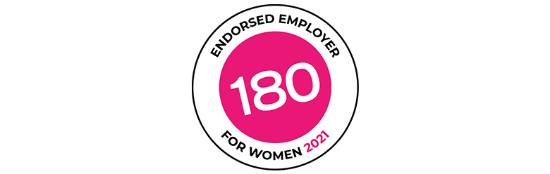 180 Endorsed Employer for Women 2021