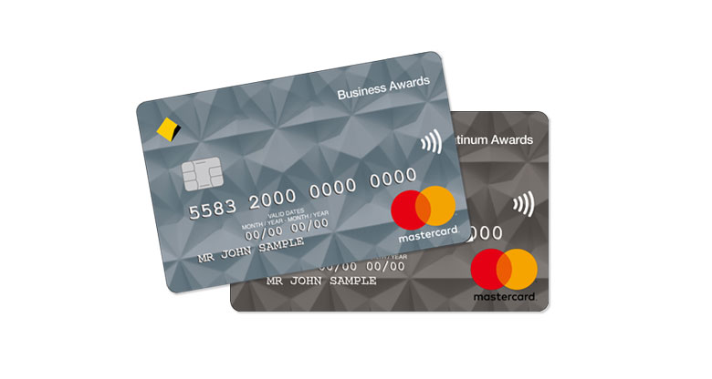 Business banking cards commbank awards credit cards reheart Gallery