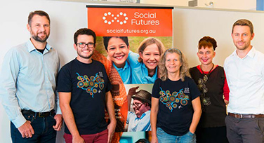 Staff at Social Futures