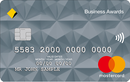Example Business Awards credit cards