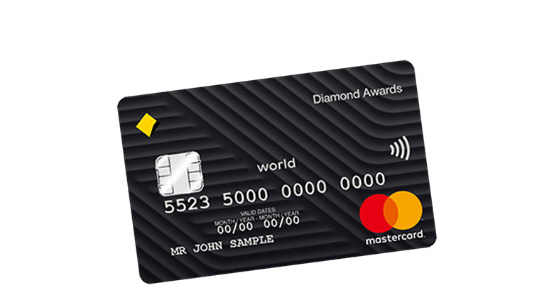 Diamond Awards credit card