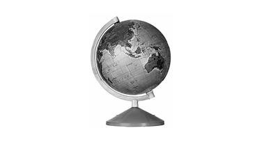Global connectivity world globe
