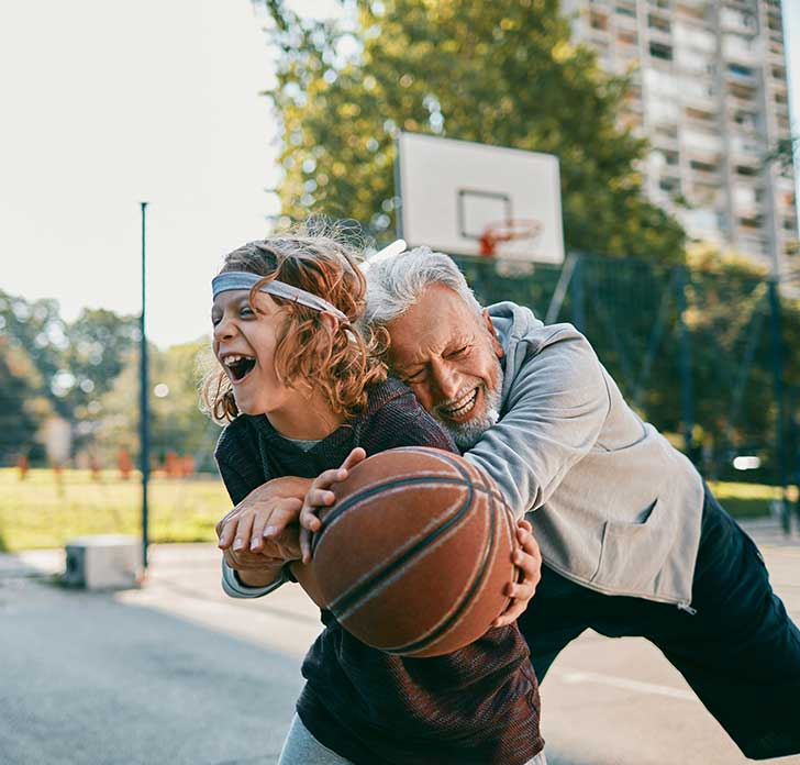 insurance for playing basketball with son