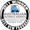 Australian Business Awards - 2011 Winner - Best New Product