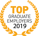 Top Graduate Employers 2019 logo