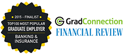 Financial Review and GradConnection Top 100 Graduate Employer 2015 Finalist - Banking and Finance