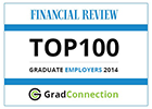 Financial Review Top 100 Graduate Employers 2014