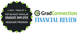 Financial Review and GradConnection Top 100 Graduate Employer 2015 Finalist - Graduate Program