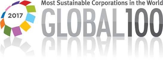 Global 100 2017 - Most sustainable corporations in the world