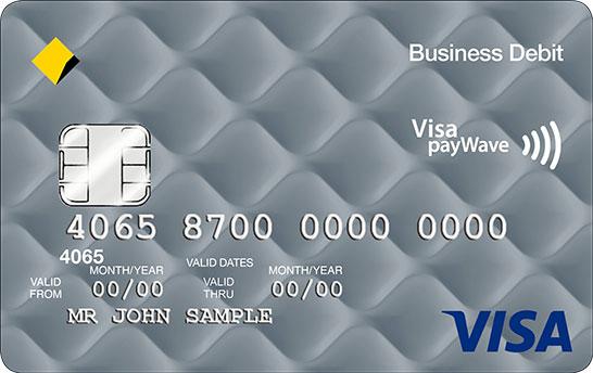 Business visa debit card commbank business visa debit card colourmoves Choice Image