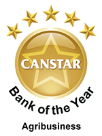 CANSTAR Bank of the Year - Agribusiness