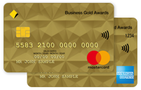 Business Gold Awards credit card