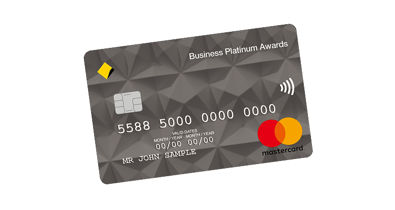 platinum awards credit card image
