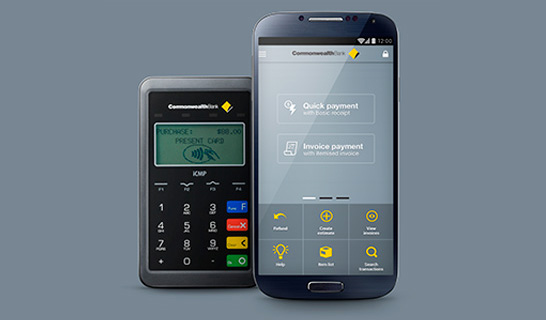 The CommBank Small Business App