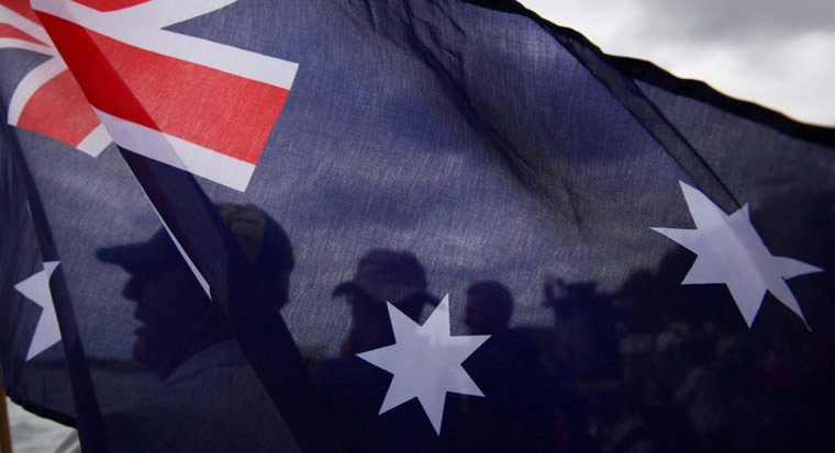 Image of the Australian flag