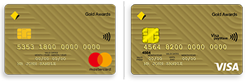 Gold awards credit card