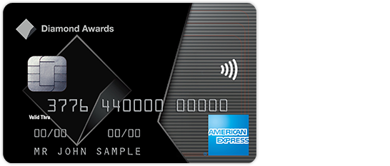 American Express CommBank Diamond Awards credit card image