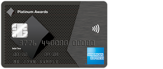 American Express CommBank Platinum Awards credit card image