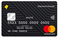 Diamon awards credit card
