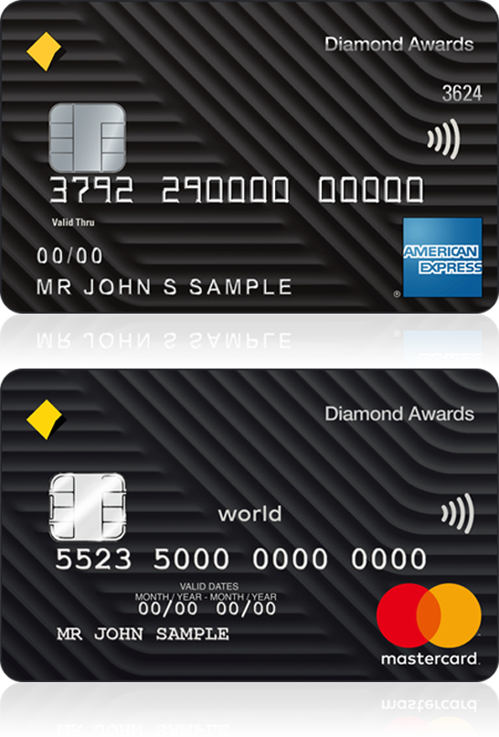 Diamond awards credit card commbank diamond awards credit card reheart Gallery