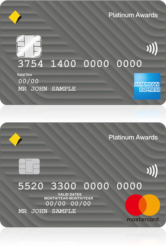 Platinum awards credit card commbank platinum awards credit card reheart Gallery