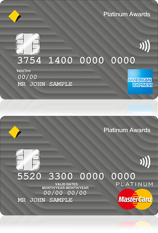 personal credit cards platinum awards stacked