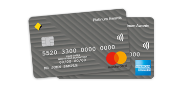 Platinum awards credit card