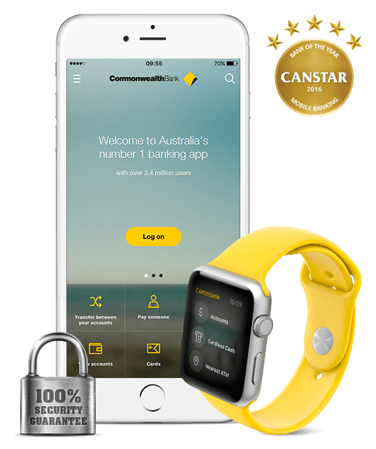 CommBank mobile app