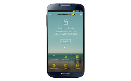 CommBank app for mobile