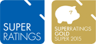Gold rating from SuperRatings