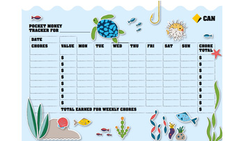 Download activity sheet of Chore tracker
