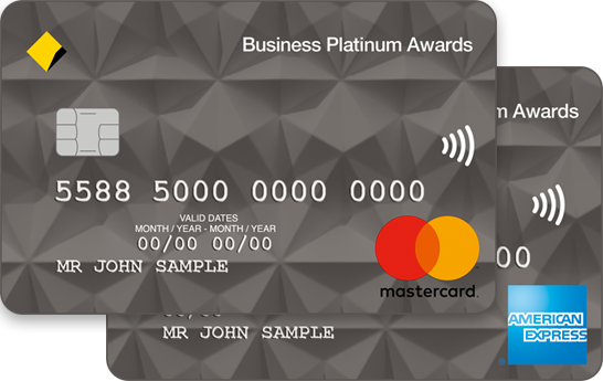 Business credit card selector example business platinum credit cards reheart Gallery