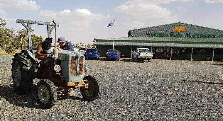 Tractor in country Victoria