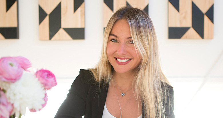 Gina Ledynak, founder of L and A Social.