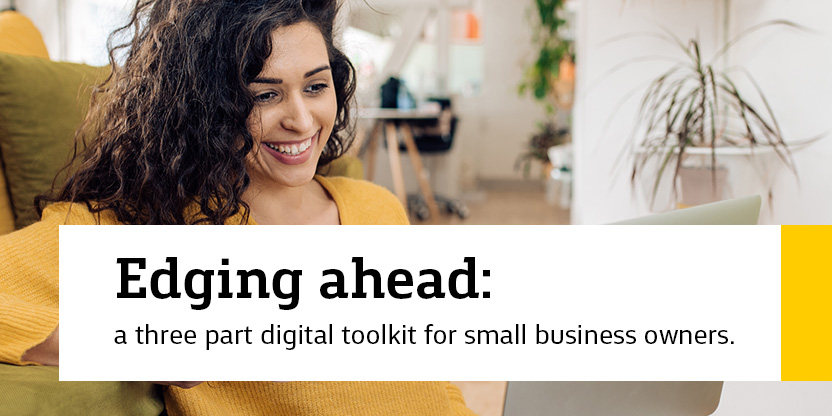 Edging Ahead: Small business webinars