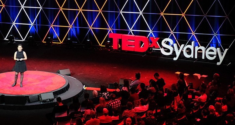 TEDx event in Sydney
