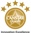 Canstar Cannex Innovation Excellence Award logo