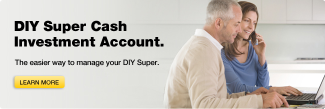 DIY Super Cash Investment Account
