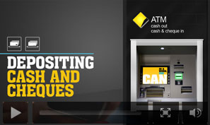 how to make cash deposit to anz atm machine